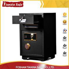 Alibaba hotsell biometric fingerprint safe lock drop money counting safe box