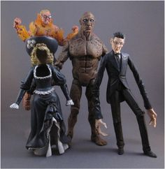action toys | toycutter: Firefly and Victorian Fantastic Four action figures