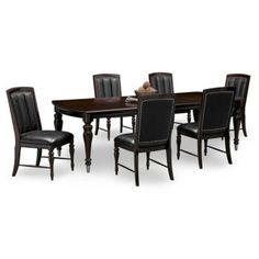 Paragon II 7 Pc. Dinette | American Signature Furniture | Mrs Lackey Paris  Room | Pinterest | City Furniture, Paris Rooms And Room