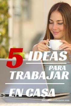 5 ideas para trabajar desde tu casa y generar dinero. Si tienes espíritu emprendedor, disfrutas recomendando productos a otras personas y te gustaría tener tu propio negocio esto te puede interesar.