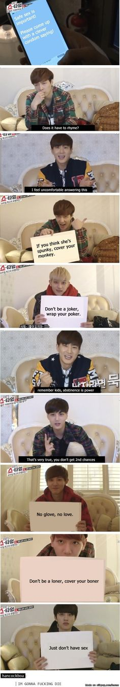 Chanyeol and baekhyun are the best hahahha