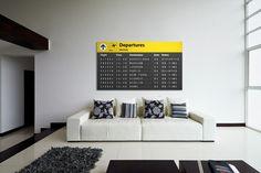 Altijd een vakantiegevoel dankzij de muurdecoratie van Airpart Roomed | roomed.nl