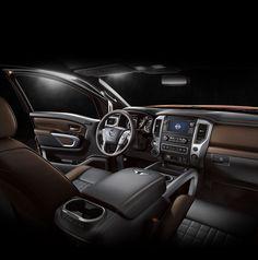 All New 2016 Nissan Titan XD ~ interior view