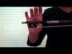 Suzuki Violin - Bow Hand Games - www.myviolinvideos.com