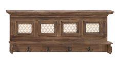 Mesmerizing Styled Wood Wall Shelf Hook