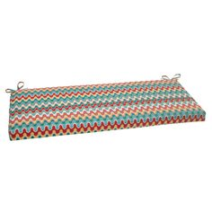 Pillow Perfect Outdoor Blue Nivala Bench Cushion