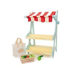 Markedsstand med klokke - Le Toy Van Købmand 000181