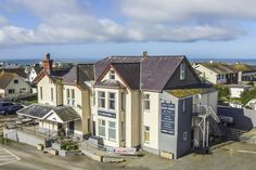 Elevated photo of the Glan Neigr Hotel  in #Rhosneigr #Anglesey