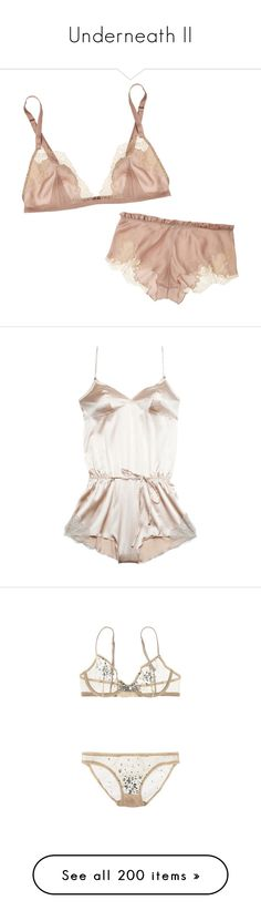 """""""Underneath II"""" by cltreanor ❤ liked on Polyvore featuring intimates, bras, lingerie, underwear, lingerie bras, dresses, bra, белье, shapewear and bodysuits"""