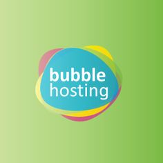 Klue: Bubble Hosting logo design