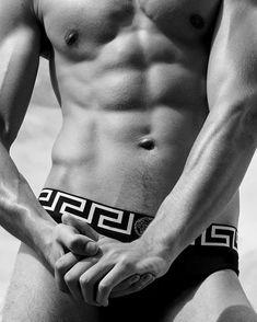 w a l k f o r m e: Photo Brand Names, Sexy Men, Erotic, Abs, Swimwear, Instagram, Versace, Gold, Fashion