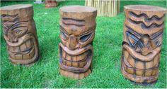 Tiki Sculpture