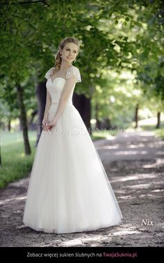 Suknia ślubna Afrodyta Nix Sublime - TwojaSuknia.pl