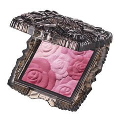 Anna Sui Rose Cheek Color N 300 is a rose bouquet housed in crystal. It is packaged in a sophisticated mirrored compact. The ultimate girly gift! Gorgeous colors! A real gem for makeup lovers. The epitome of girlish glamour and romance! #anna_sui