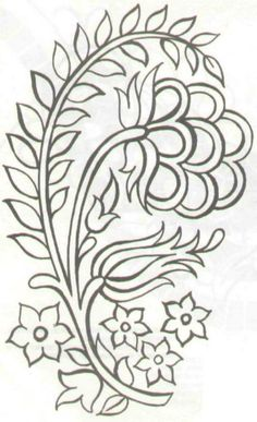 Fashion and Lifestyle Jacobean Embroidery, Embroidery Transfers, Embroidery Needles, Crewel Embroidery, Hand Embroidery Patterns, Ribbon Embroidery, Beading Patterns, Embroidery Designs, Candlewicking Patterns