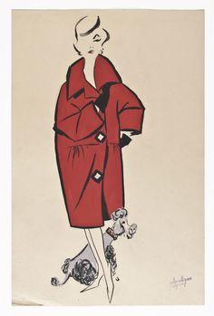 Museo del Traje de Madrid: exposición de Pedro Rodríguez, Alta costura sobre papel. Hasta el 17 de Junio