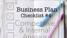 Coffee Shop Business Plan: Competitive Analysis