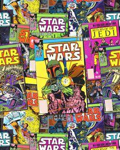 Star Wars 3 - Comic Collage - Multi