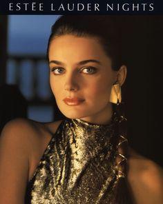 """supermodelshrine: """" Paulina for Estee Lauder, 1989 """""""