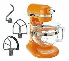 GOT IT - KitchenAid 6 qt 575 Watt Glass Bowl Lift Stand Mixer w/ Flex Edge & 3 Acces. - Includes 6-qt glass bowl with spout and handle, flat beater, Six-wire whip, Dough hook, Flex Edge beater