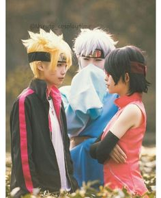 Naruto - Boruto, Sarada and Mitsuki - COSPLAY