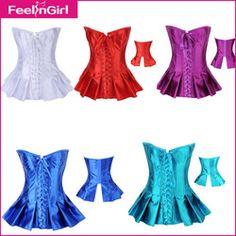 Online Shop Wholesale 2015 New Corset Dress 6 Colors Bustier Top Sexy Gothic Clubwear Plus Size S M L XL XXL Overbust Corpete Corselet 10|Aliexpress Mobile
