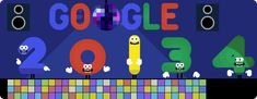 New Year's Eve 2013 Google Logo Is Bringing In The New Year With A Disco #Disco #NewYearsEve #GoogleDoodle