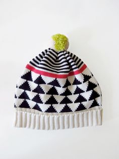 Retro looking hats by Annie Larson