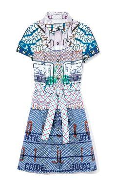 The Ashdale Dress by Mary Katrantzou x Current/Elliott Now Available on Moda Operandi