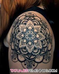 Resultado de imagen de precio tatuaje mandala hombro                                                                                                                                                     Más