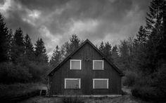 Creepy old abandonned house