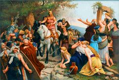 Arminius liberating the Germanic tribes from Roman rule