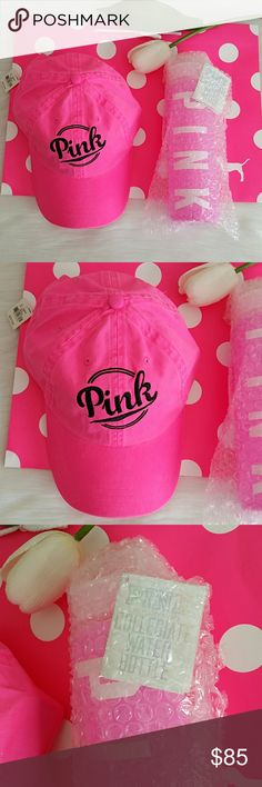 Nwt Pink Vs Hat  (I'm only selling the Hat) Brand new pink hat  Smoke and pet free home.  Fast shipping + extra gift    I don't trade love.  Available  Feel free to bundle for extra discount :) PINK Victoria's Secret Accessories Hats