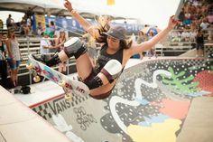 Van Doren Women's Invitational Contest. Allysha Bergado Photo: Ian Logan