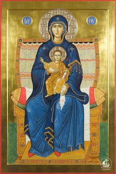 Mother of God religious icon Religious Images, Religious Icons, Religious Art, Byzantine Art, Byzantine Icons, Architecture Religieuse, Russian Icons, Blessed Mother Mary, Madonna And Child