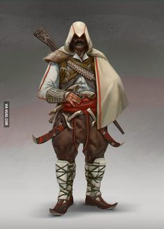 Bulgarian Assassin by wi-flip-ff on DeviantArt Character Concept, Character Art, Character Design, Concept Art, Slavic Tattoo, History Tattoos, Poster Drawing, Amazing Drawings, My Heritage