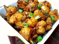 Gobi Manchurian dry – Cauliflower Manchurian dry | Spicy Tasty