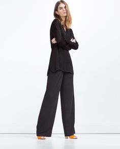 ZARA - WOMAN - BLOUSE WITH BACK OPENING