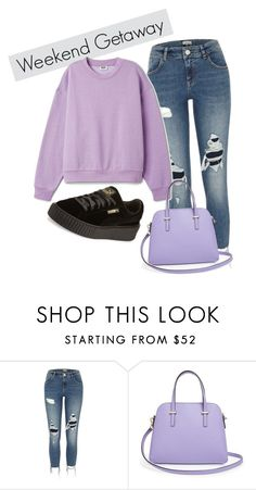 """""""Sans titre #45"""" by minii92 on Polyvore featuring mode, River Island, Kate Spade et Puma"""