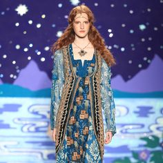 Anna Sui Spring/Summer 2014 The Mists of Avalon