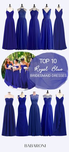 106316f663120 There is no doubt that royal blue bridesmaid dresses are sexy and  elegant