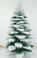 how to flock an artificial christmas tree - Google Search