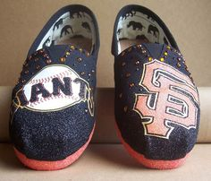 San Francisco Giants TOMS. WANT THESE SO BADLY!