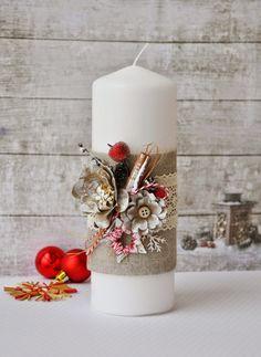 Elena Olinevich: Home Decor - Candles - 5е Задание Цветочного Нового Года - Свечи