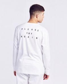 Lazy Oaf L/Sleeve Error T-shirt