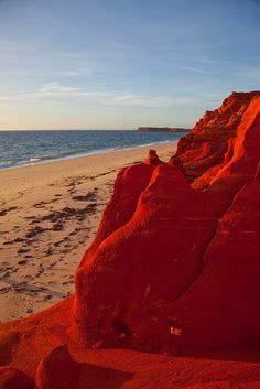 Red Ochre Cliffs at Cape Leveque, Western Australia. #Australia