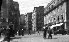 Rua da Palma cruzamento com a Rua Martim Moniz, ve