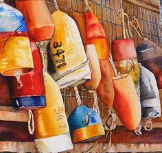 "Hanging Out by Lori Pitten Jenkins  ~ 15"" x 17"""