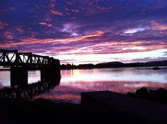Matapihi rail bridge...