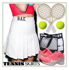 """""""Tennis style"""" by eernaa ❤ liked on Polyvore featuring O-Mighty, NIKE, Marco Bicego and tennisstyle"""